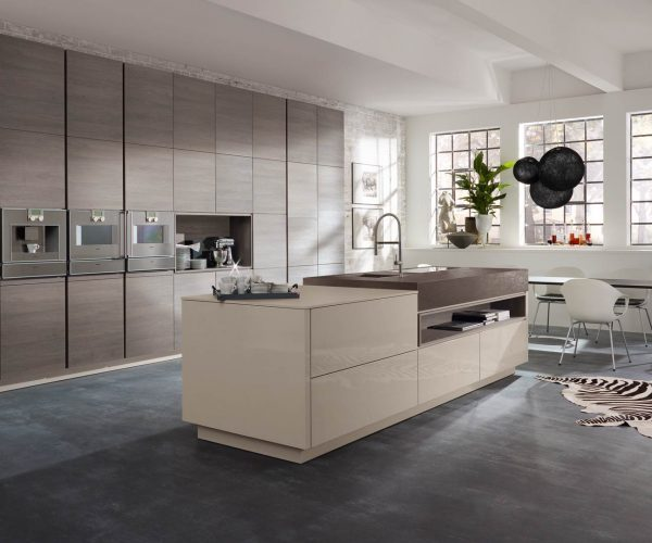 Star Plan Oak Effect Cashmere Grey Kitchen 2